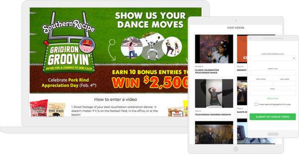 Southern Recipe's Gridiron Football Dance contest