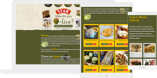 "Star Fine Food's ""How do Your Olive"" campaign"