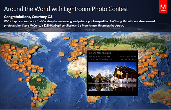 Adobe Lightroom's Around the World campaign