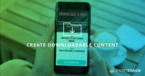 Create Downloadable Content