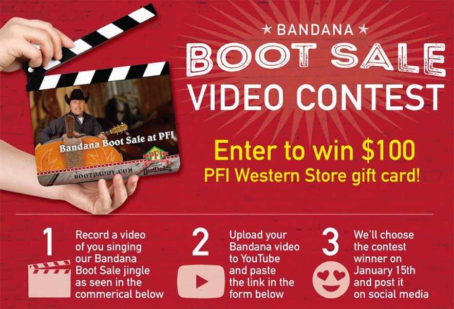 Boot Daddy video contest