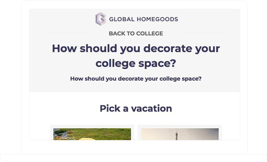 Global Homegoods Personality Quiz