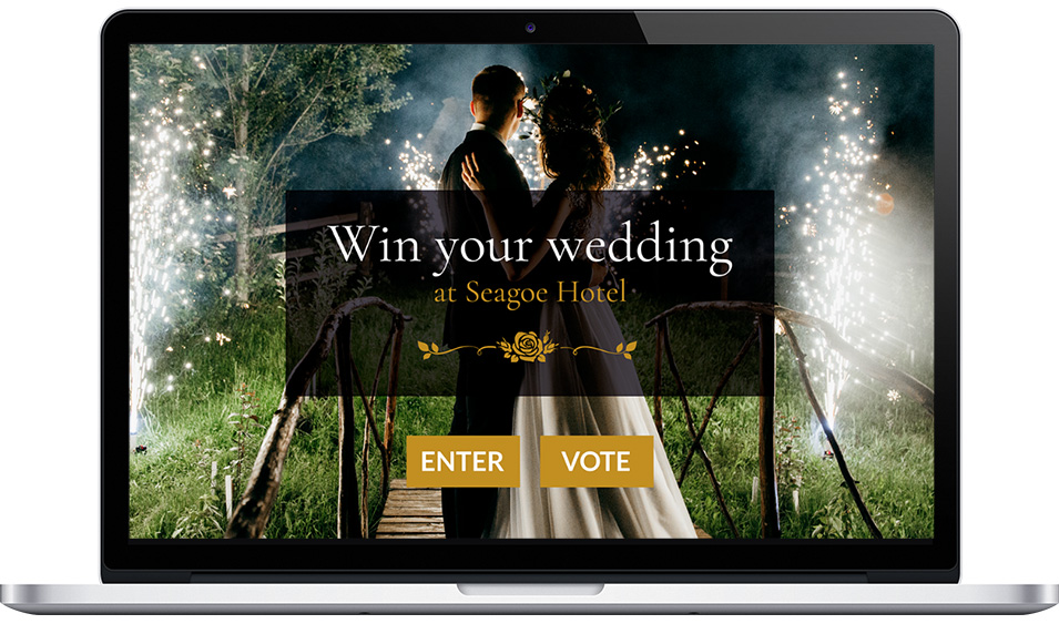 "Seagoe Hotel's ""Win Your Wedding"" Photo Contest"