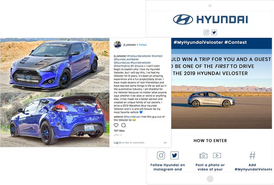 Hyundai Veloster contest