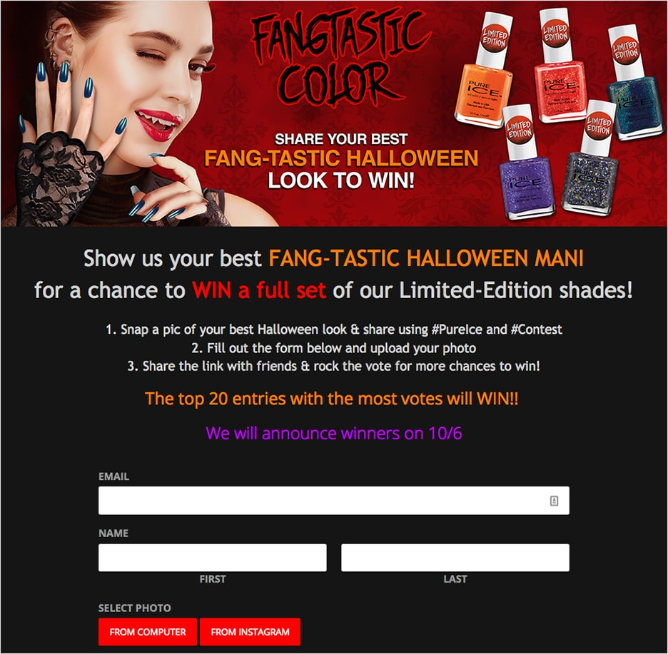 Nail Polish Photo Contest