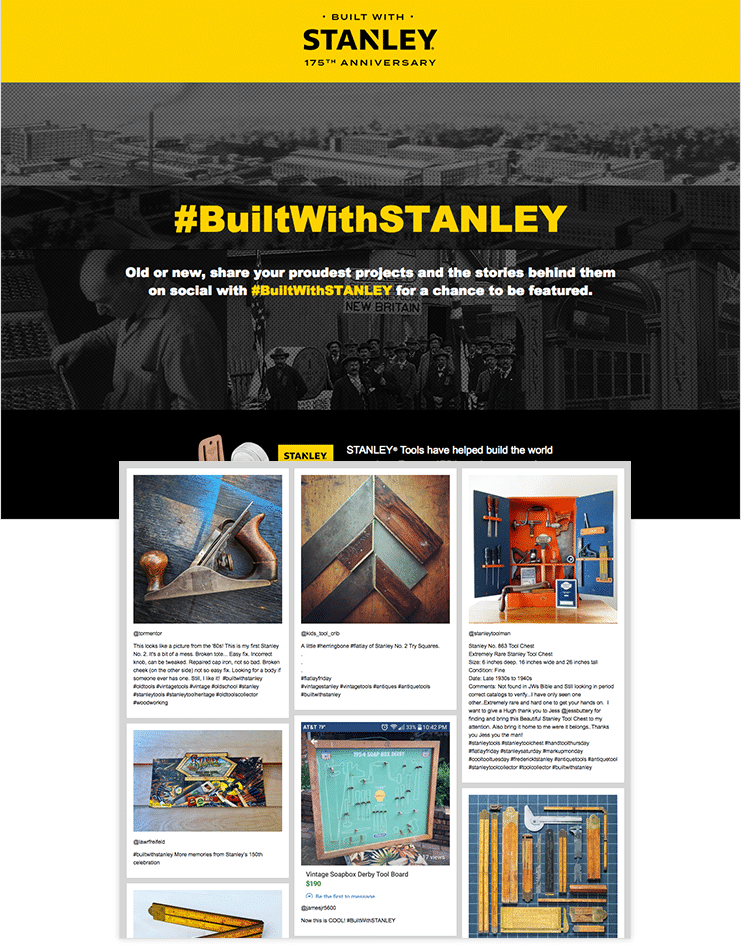 Hashtag contest by Stanley tools
