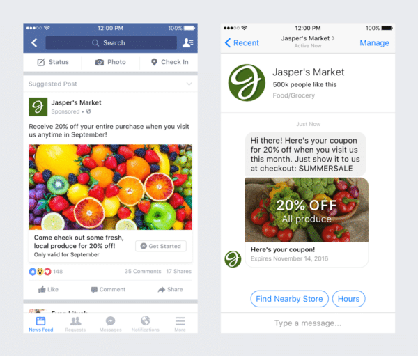 Facebook Messenger Ads - social media leads