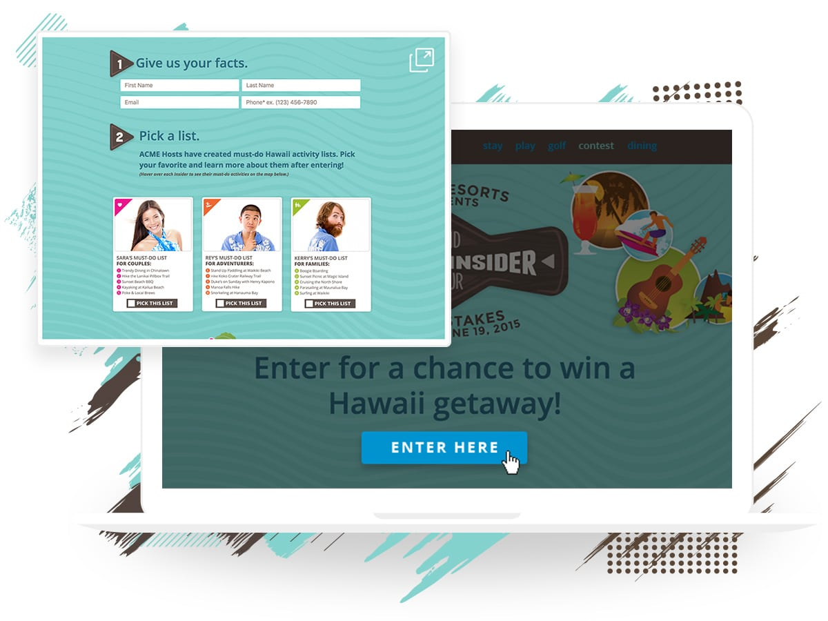 Display your campaign as a popup