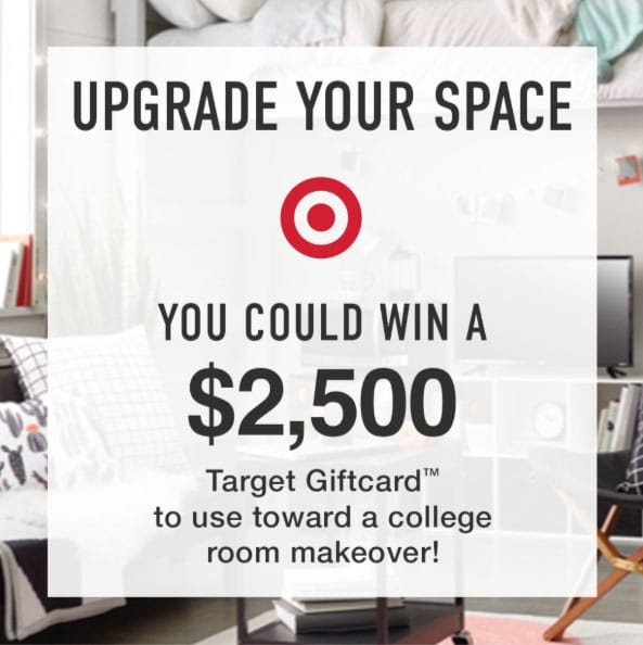 Target's College Room Makeover Sweepstakes