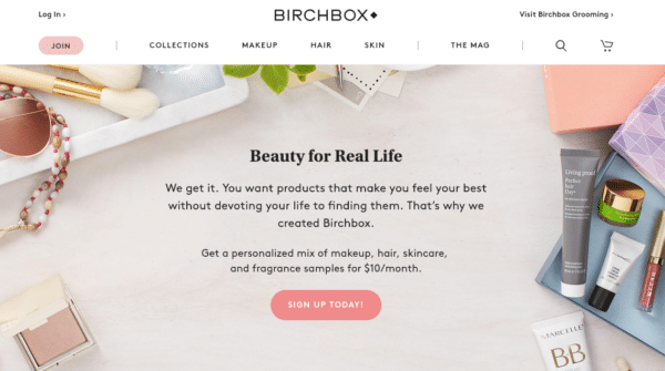 Birchbox for eCommerce Promotion Ideas