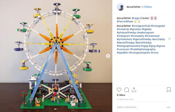 Social Media Photos like lego for Leverage User-Generated Content
