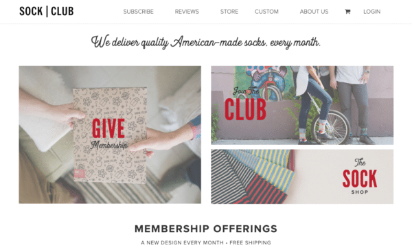 Socks-Clothing for eCommerce Promotion Ideas