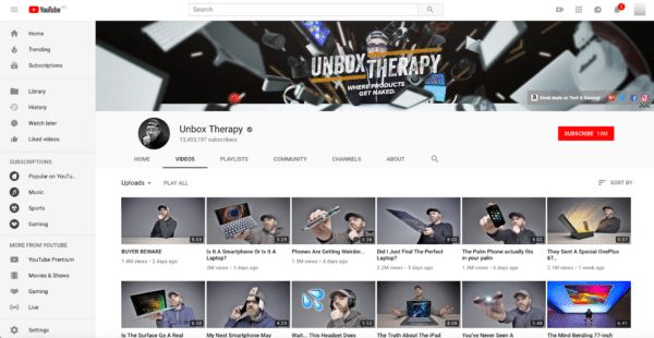 Unbox Therapy for Leverage User-Generated Content