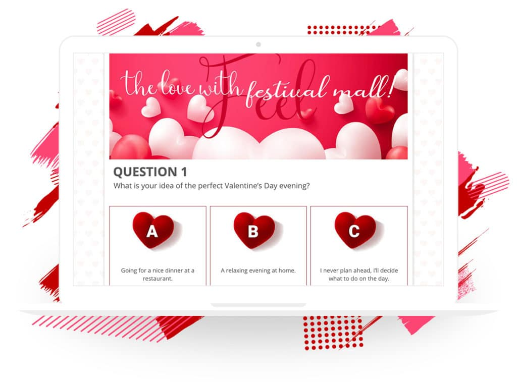 "Festival Mall's ""What Type of Romantic Are You?"" Quiz"