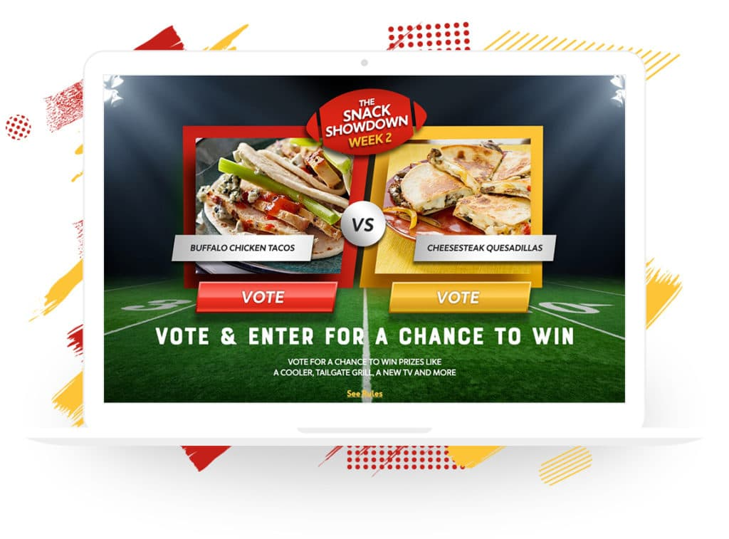 "Mission Foods' ""Snack Showdown"" Vote-to-Enter Contest"