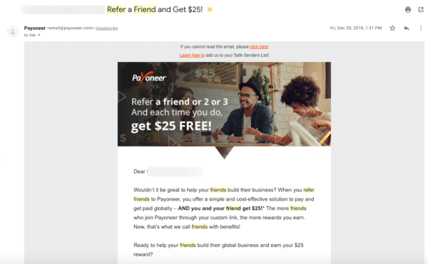 Payoneer for Leverage Your Leads