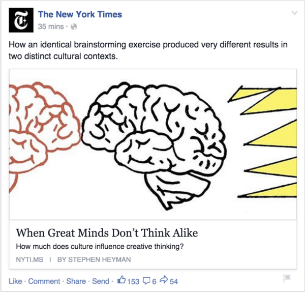 The New York Times for Authentic Social Media Sharing