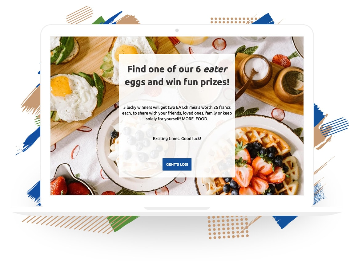 "EAT.ch's ""Easter ""Eater"" Egg Search"" Sweepstakes"