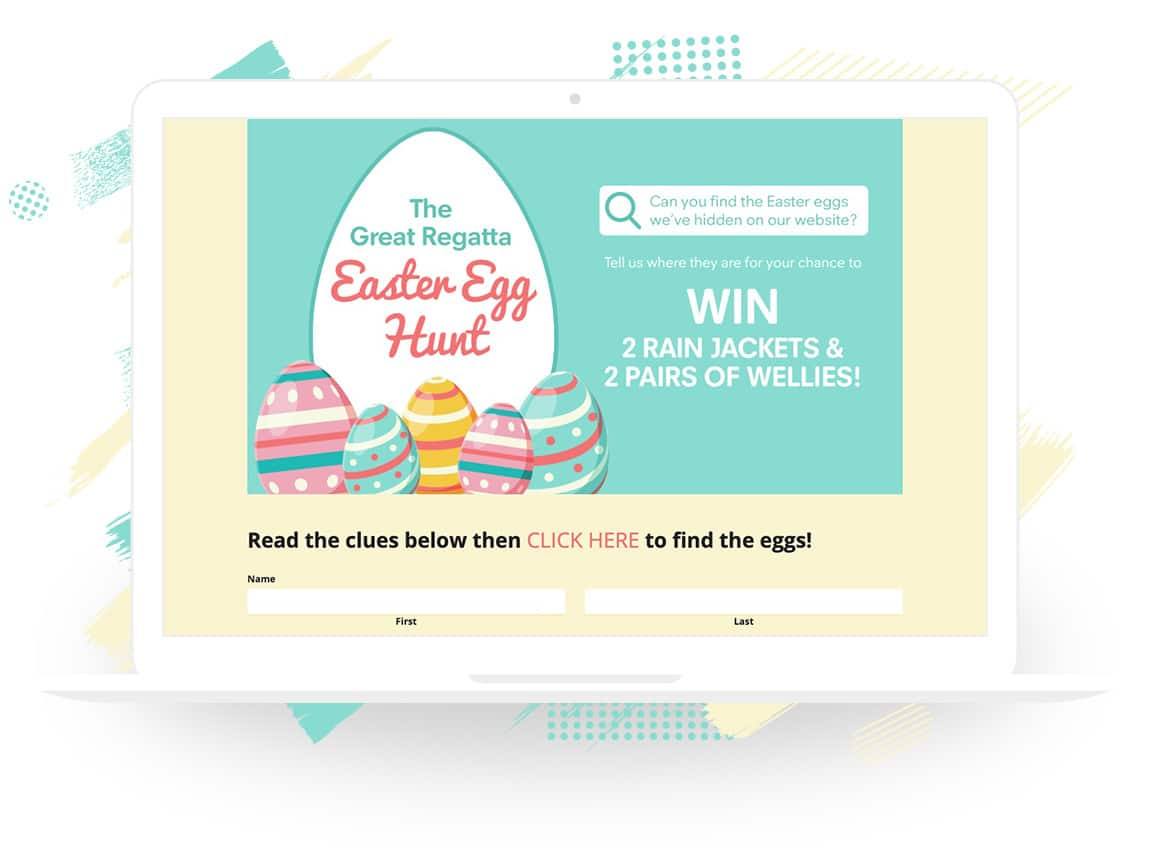 "Regatta's ""The Great Regatta Easter Egg Hunt"""