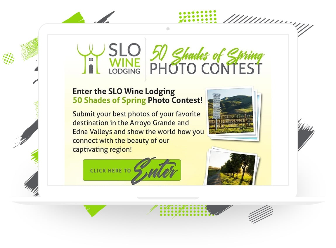 "SLO Wine Lodging's ""50 Shades of Spring"" Photo Contest"