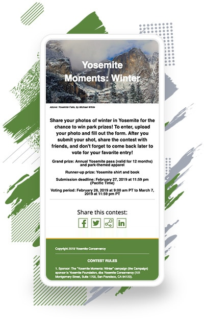 "Yosemite Conservancy's ""Yosemite Moments: Winter"" Campaign"