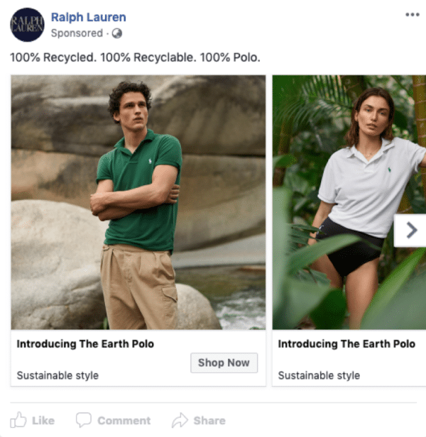 eCommerce Facebook ad examples - image 2