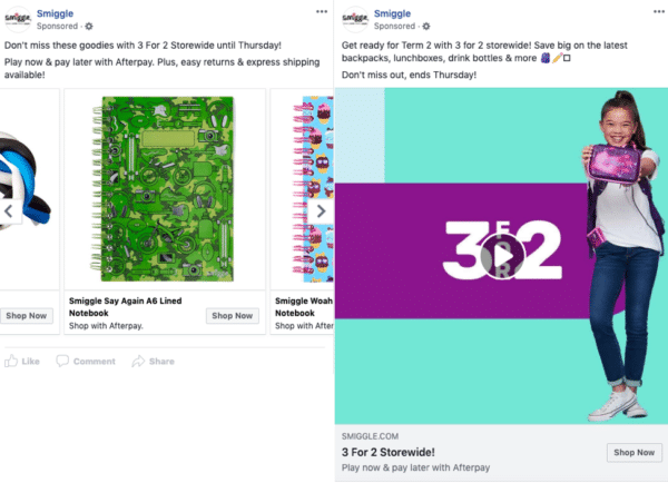 eCommerce Facebook ad examples - image 7