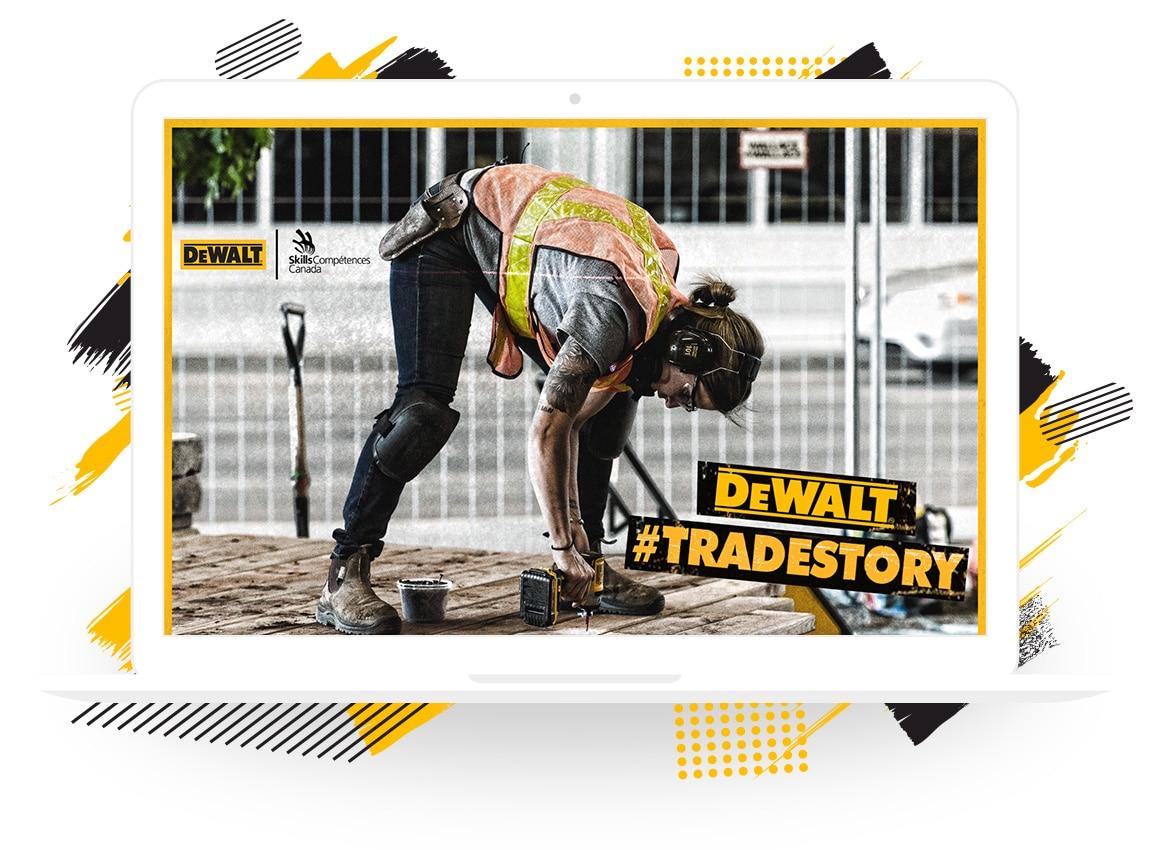 "Dewalt's ""#TradeStory"" Contest"