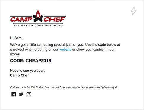 camp chef email