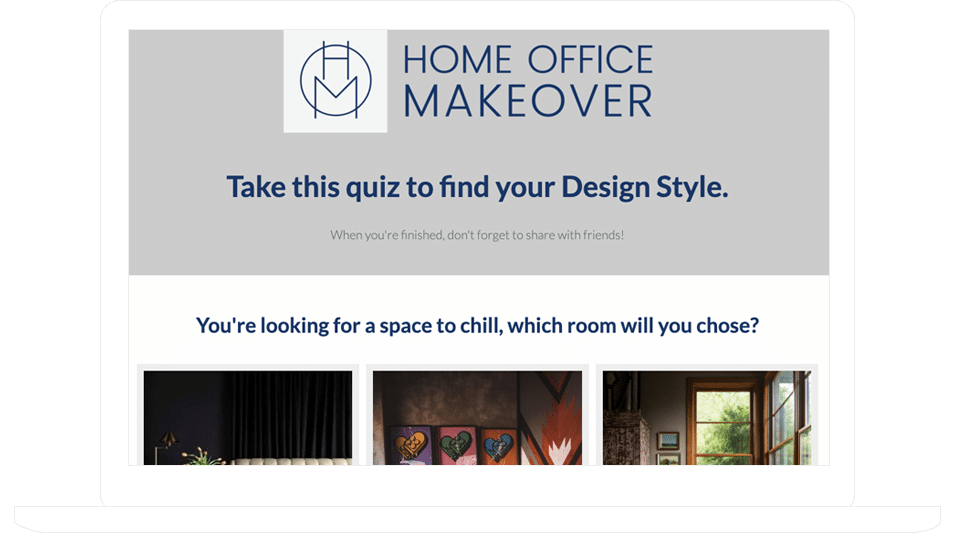 "Home Office Makeover's ""Find Your Design Style"" Personality Quiz"