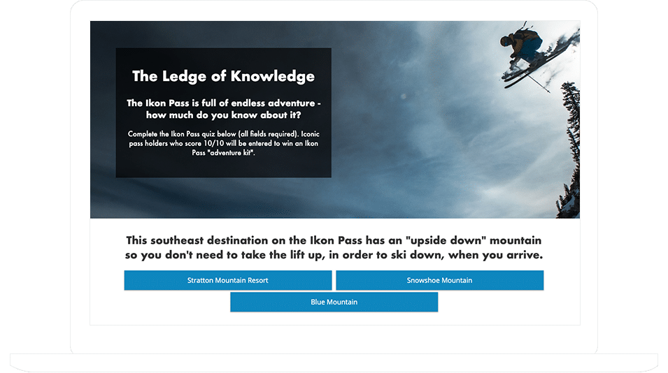 "Ikon Pass's ""The Ledge Of Knowledge"" Quiz"