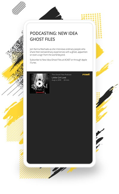"New Idea Ghost Files' ""Little Girl Lost"" Episode"