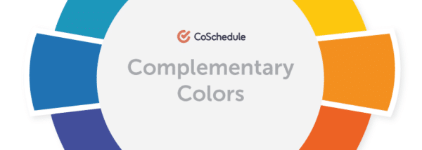 CoSchedule Complementary Colors of Holiday Colors for Landing Page Design
