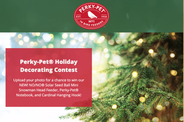 Perky-Pet Holiday Decorating Contest for Landing Page Design