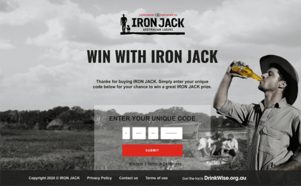 Iron Jack for Unique Codes