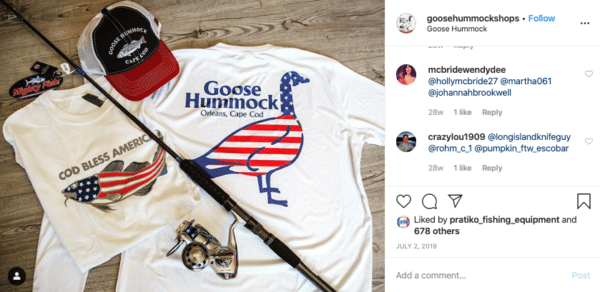 White Clothes with Hat and Fishing Rod for Independence Day Instagram Contests