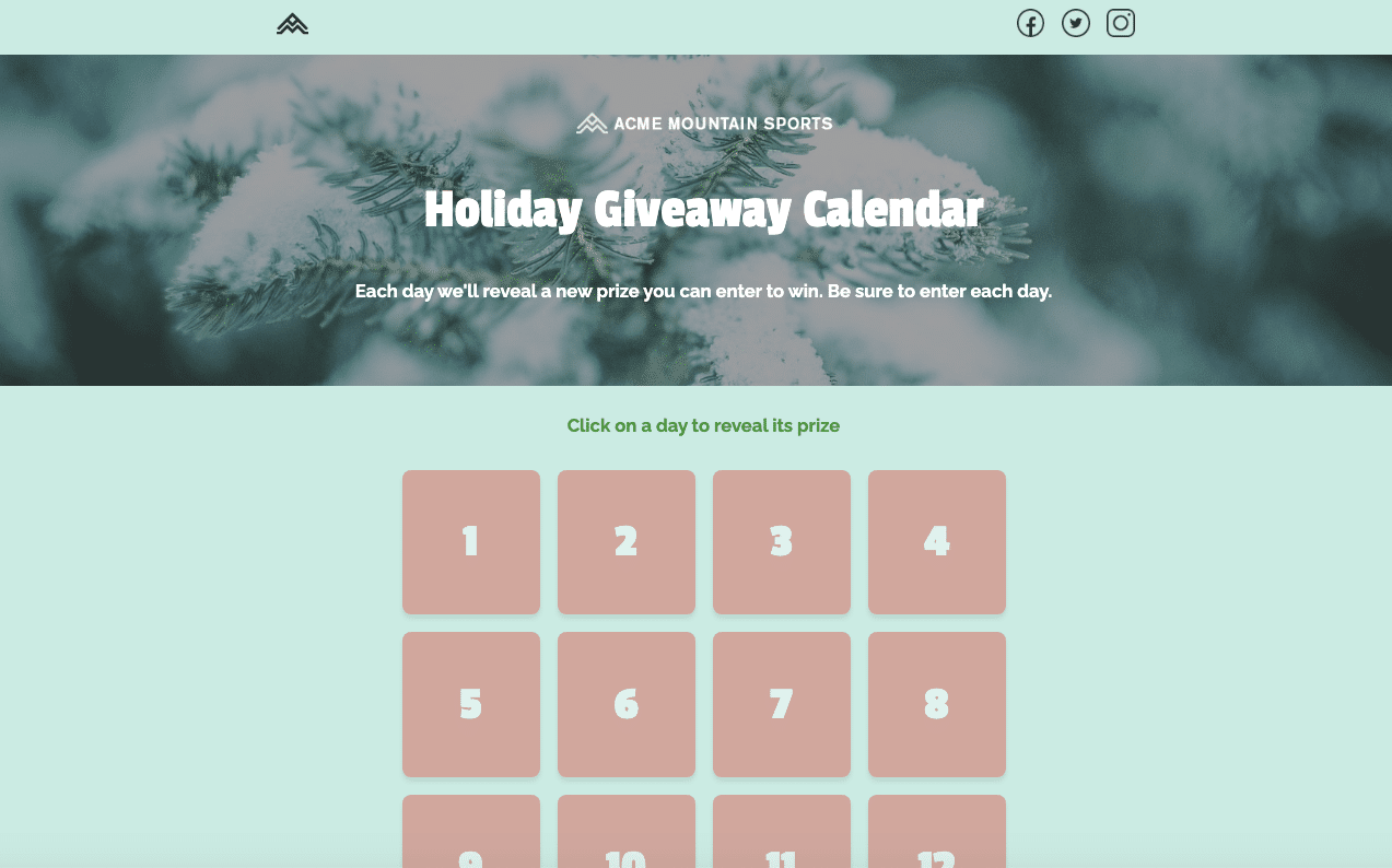 Marketing-Ideas-For-a-Christmas-Like-We've-Never-Seen-Before-Interactive-Experiences-Holiday-Giveaway-Calendar