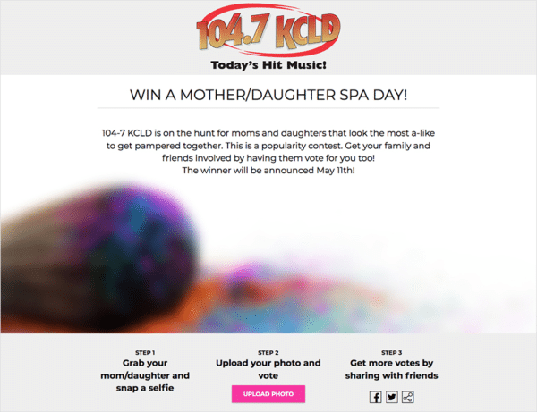 Case-Studies-104.7-KCLD-Win-a-mother-daughter-spa-day