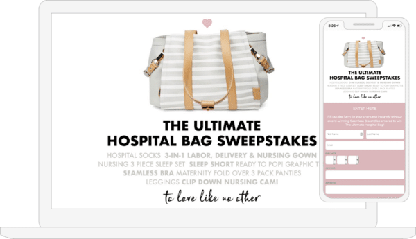 Case-Studies-Motherhood-Maternity-the-ultimate-hospital-bag-sweepstakes