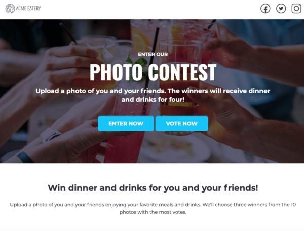 The-9-Best-Performing-ShortStack-Landing-Page-Templates-ACME-eatery-Photo-contest