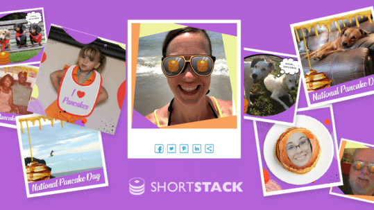 How We Collected Nearly 3k Entries + Some Amazing UGC With Our National Pancake Day Contest & Photo Frames